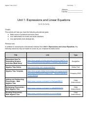 Unit Activity - Unit 1_ Expressions and Linear Equations.pdf