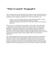 What i learned P.9