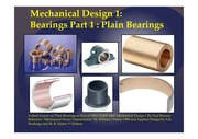 MECH2400 5400 Mechanical Design Bearings Part 1 10092014