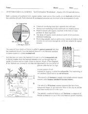 Worksheet Soil Formation Worksheet soil formation worksheet 1 is a 2 pages formation