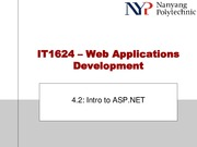 Topic 4.2 - Intro to ASP.NET.pdf