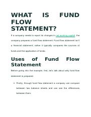 funds flow statement analysis.docx