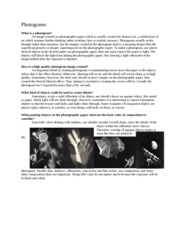 Photogram_Research_Paper_#2