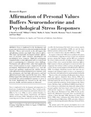 Week2_Reading_Personal_Values_and_Stress_Response
