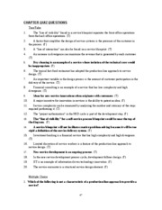 CHAPTER 4 QUIZ QUESTIONS - Answers