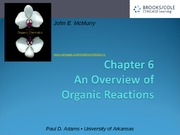 6Overview Organic Reactions