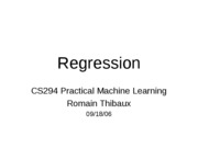 Kernel regression
