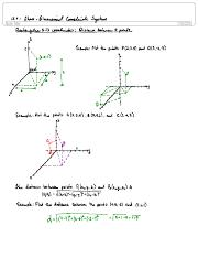 12.1 3D Coordinate Systems