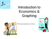 Introduction to Economics & Graphing