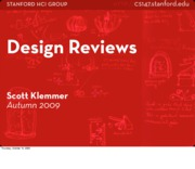 CS147-2009-DesignReviews