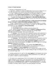 BIO 226T - Lecture 14 Study Questions