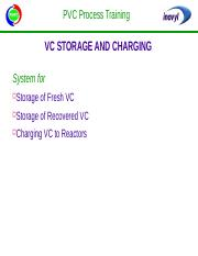 VC Storage & Charging
