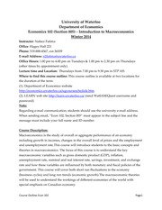 Course Ouline-Econ102-Winter 2014