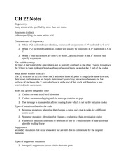 CH 22 Notes