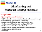 Chap-15 Multicasting