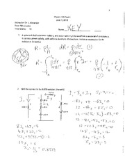 Phys 295 Test 3