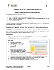 05 - advanced forms and combo boxes