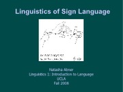 Lecture_12_Linguisitics of Sign Language