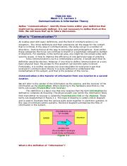 TSM-CIS 601 Lecture 1 Comms-Info Theory SP15 (2)