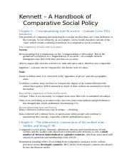 Book Notes – Kennett – A Handbook of Comparative Social Policy.docx