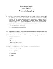 tutorial - Process Scheduling.pdf
