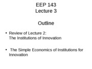 EEP143 Lecture 3 07