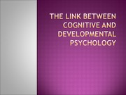week 10- cognitive and developmental PSY NOTESS