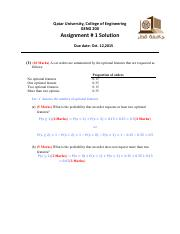Assignment #1_Solution