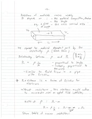 ELEC 483 Material Static Relationship Notes