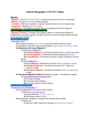 CulturalGeographyCH.3Notes