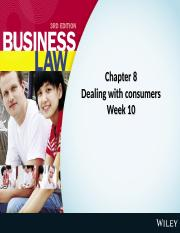 Weeks 10-11.Dealing with Consumers.ppt
