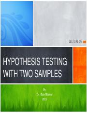 Lecture 06-Hypothesis Testing with Two Samples.pdf