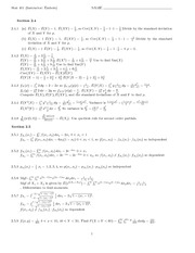 STAT 401 - Homework 6 with Answers