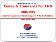 Codes and Standards_LNG_Petrofed Dahej Oct 2011