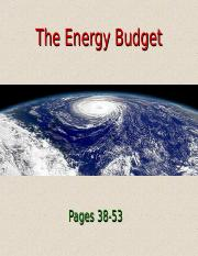 Lecture+6+-+The+Energy+Budget+(9.1.16).ppt