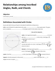 Guided Notes - Relationships among Inscribed Angles, Radii, and Chords.pdf