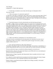 Pharm Assignment 2.1: Study Guide Questions .docx