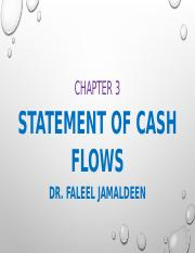 chapter 3 part I cash flow statements - updated