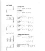 Formula sheet for Exam