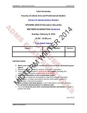 ADMS 4503 Midterm Exam Solutions (Version 3).pdf