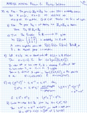 Fall 2011 - Math 145 - Exam 2 Review Solutions