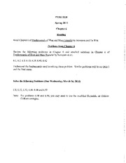 Chapter 6 Practice HW problems 2011
