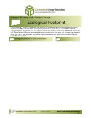 Ecological Footprint Lesson.doc