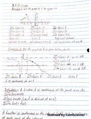 MATH 206 Continuity Notes