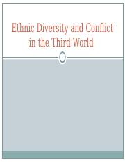 10.28 Ethnic Diversity in the Third World white.ppt