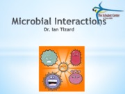 405-Microbial Interactions (Ch 27) 10.24.13