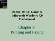 Windows Xp Professional Chapter 09