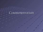 Counterterrorism Introduction-student S3L1