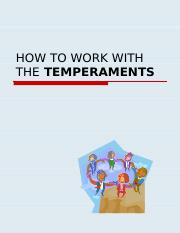 HowtoWorkWiththeTemperaments-McGeel.ppt