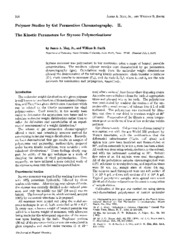 GPC_Kinetics_PS_Polymerization_J_Phys_Chem_72(1)_Mays_(1968)